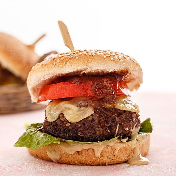 Mini burger της Lady Butcher για πάρτι