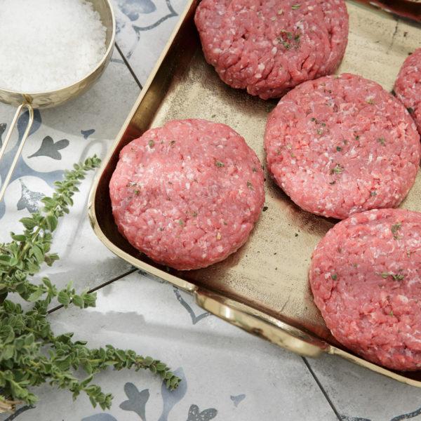 Burger χωρίς γλουτένη και με μειωμένο αλάτι της Lady Butcher