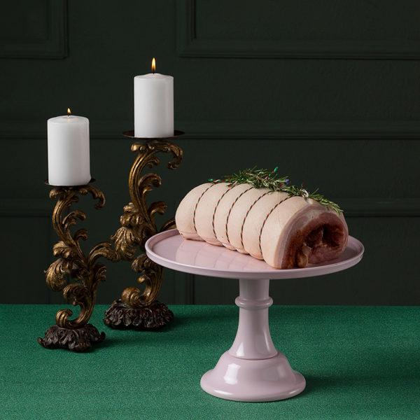 Χοιρινή πορκέτα χριστουγεννιάτικη της Lady Butcher